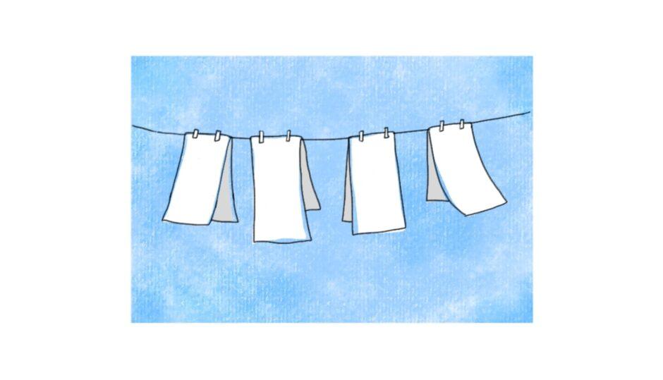 布おむつの使い方と洗い方