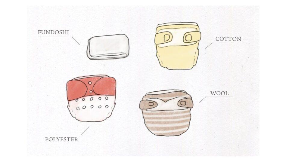 おすすめの布おむつの素材やメーカー